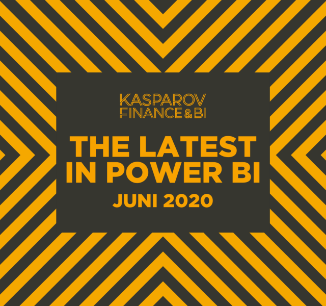 The latest Power BI juni 2020